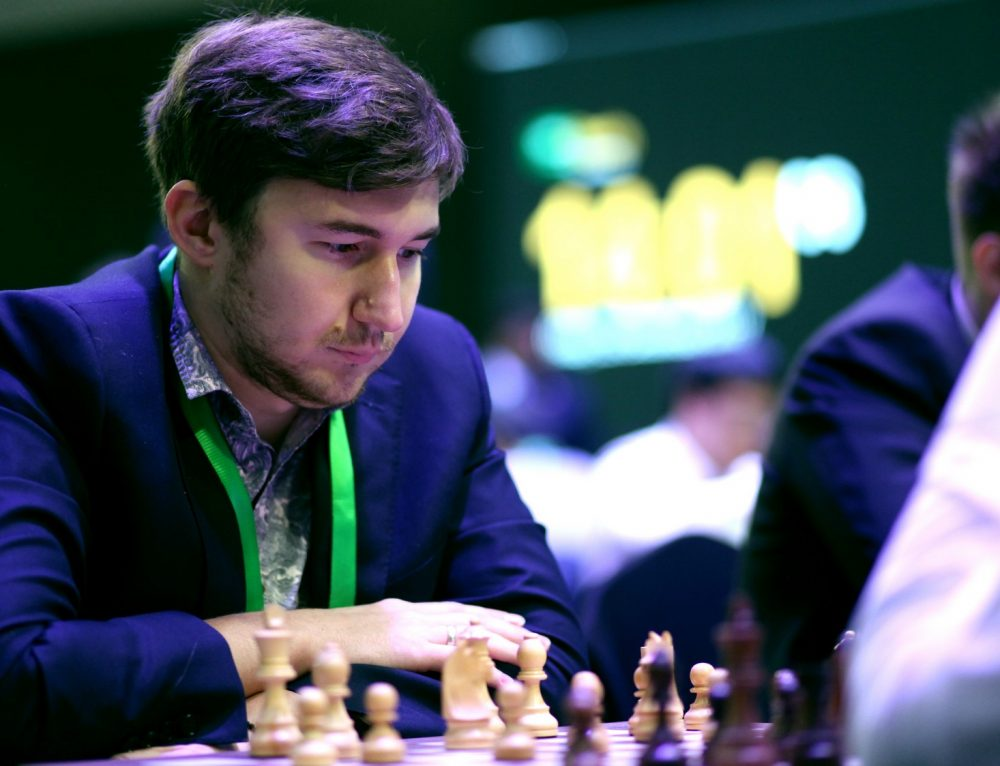 Karjakin, Cramling lead in King Salman World Blitz Chess Championship
