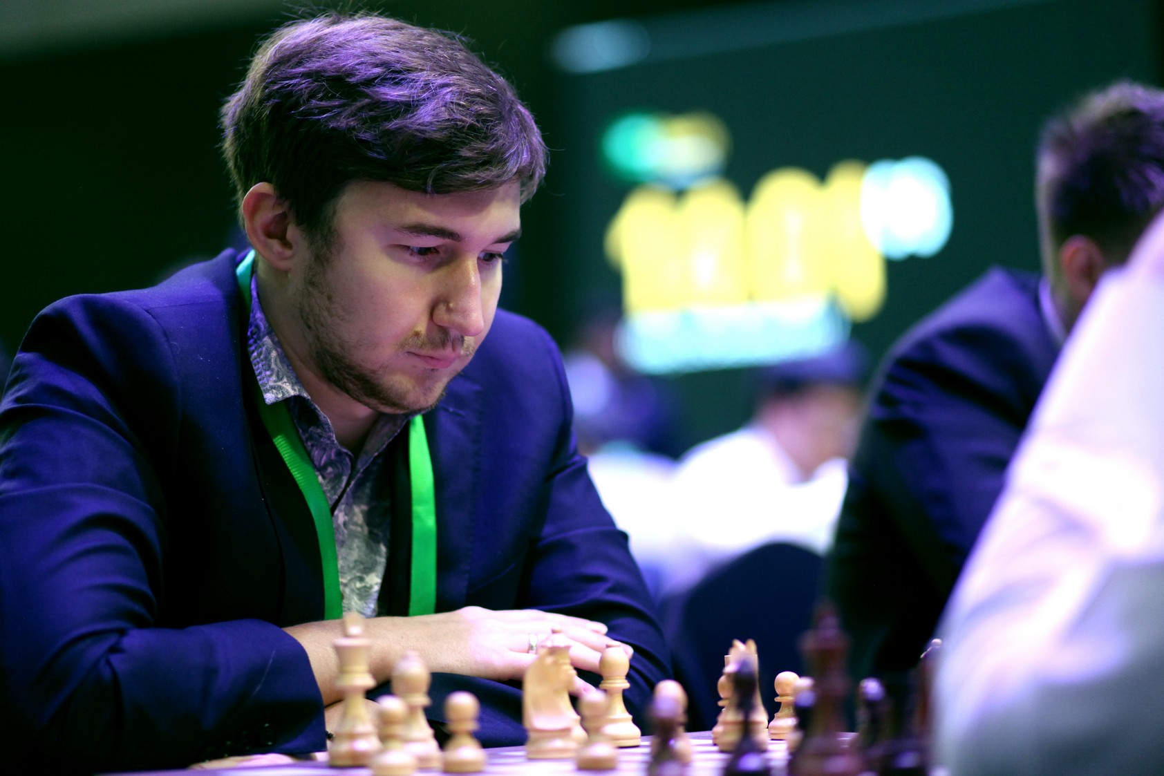 Karjakin, Cramling lead in King Salman World Blitz Chess Championship