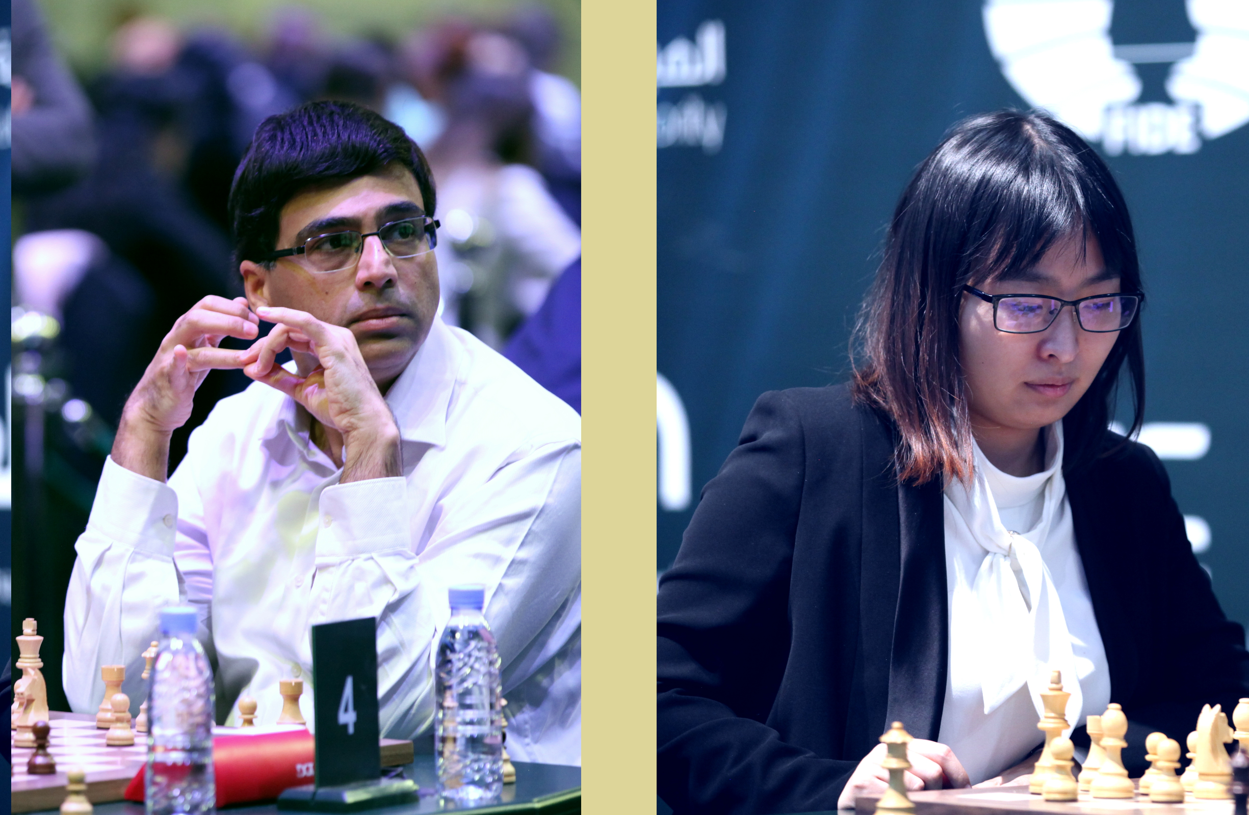 Anand and Ju Wenjun are World Rapid Champions!